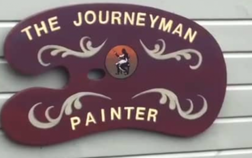 The journeyman painter – a lifetime painting in his shed