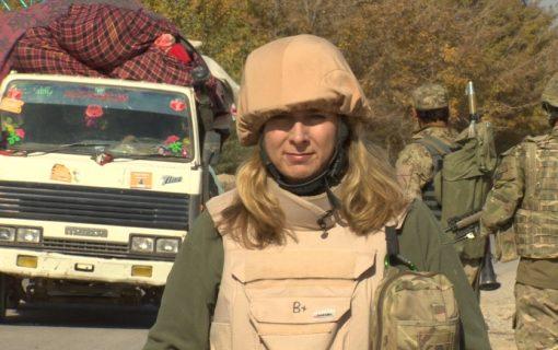 PODCAST: Woman in a war zone – BBC's Caroline Wyatt