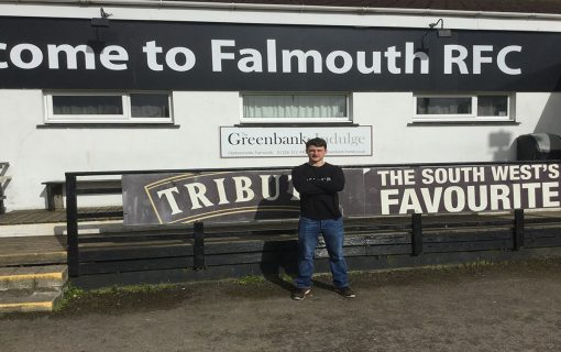 Rugby player makes 3,000 mile trip from Truro to Falmouth