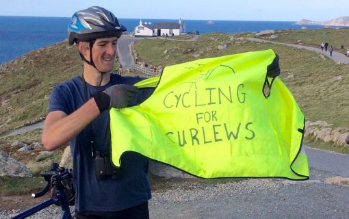 Flying back to Uni: The student who cycled 530 miles for charity