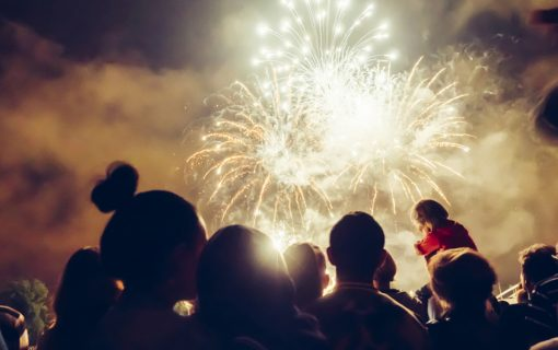 Vox Pop! Describe your fireworks night in one word.