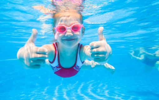 Learning to swim – keeping kids safe by the sea