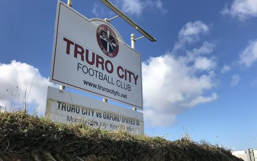Staying put: Truro City have another year at Treyew Road