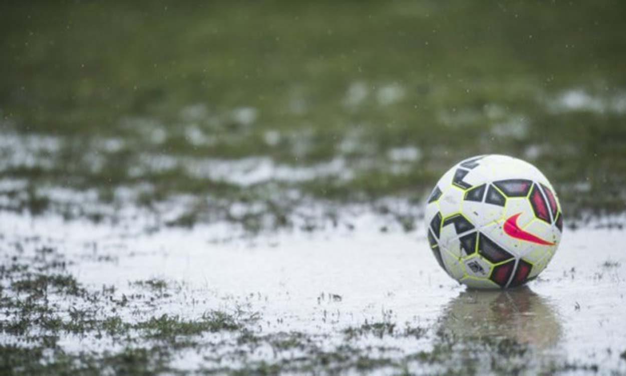 Image result for water logged pitch