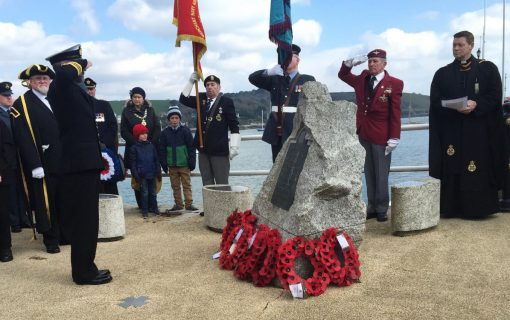 Memorial service held for Falmouth's St Nazaire heroes