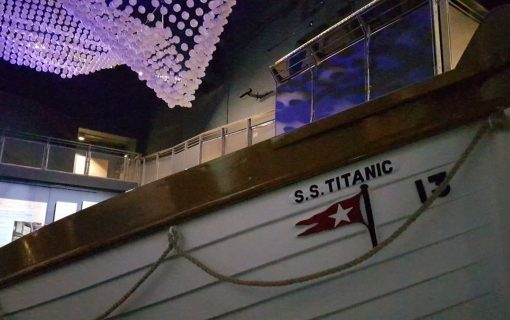 Little boat, big story: the Titanic exhibition at the Maritime