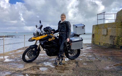 Mousehole resident to complete 12,000 km motorcycle rally across Asia for ActionAid