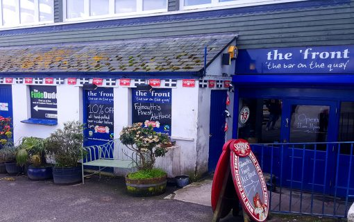 The 'front crowned best pub with unified CAMRA Kernow titles
