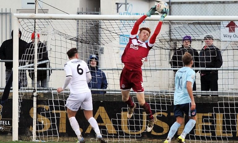Coaching to England C: Truro City keeper Tom McHale's rise