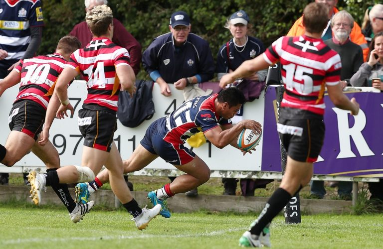 Not over yet: Matt Bolwell signs for a further year at the Cornish Pirates
