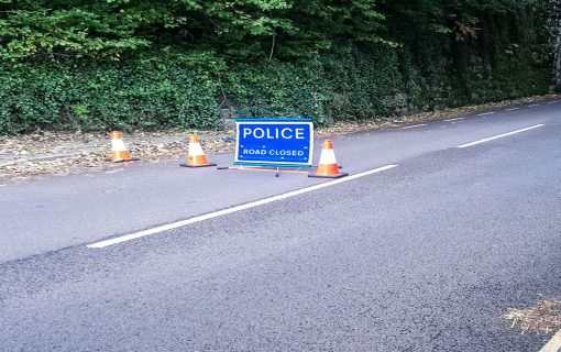 Main road between Penryn Campus and station closed
