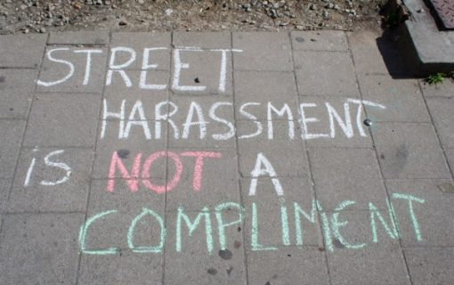 Is street harassment a hate crime?