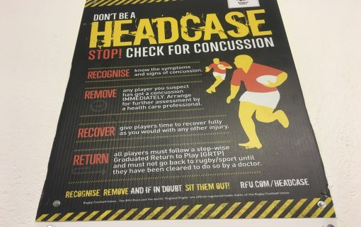 Concussion: the underlying issue in Rugby?