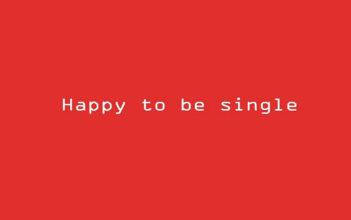 Don't be SAD, it's single's day