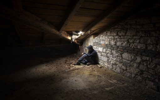 Home(less) Invasion: Impoverished man hiding in student loft