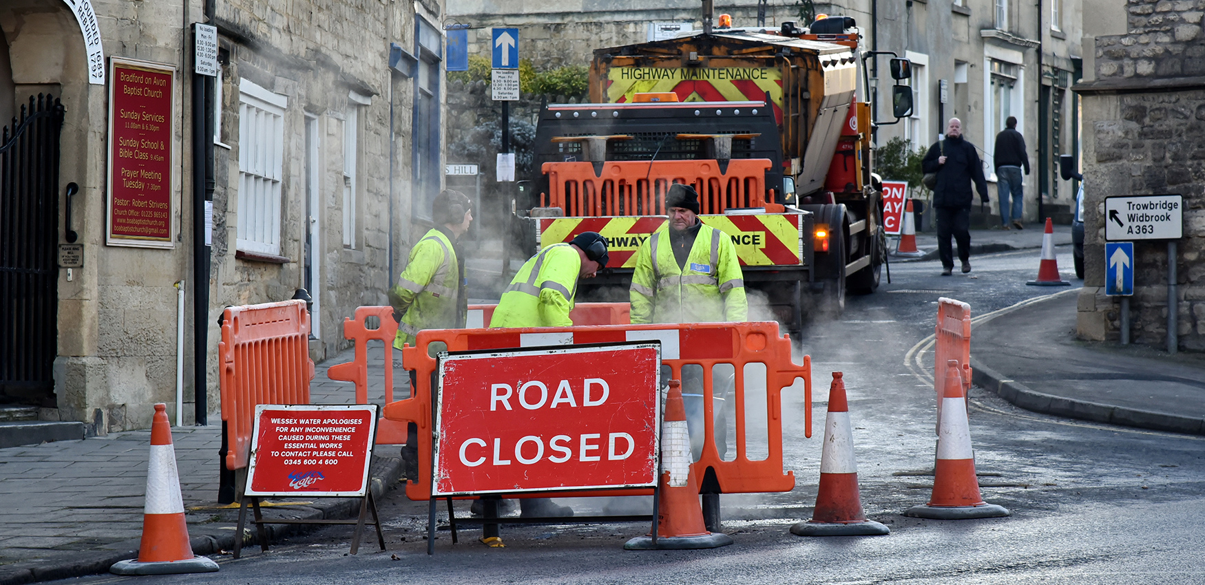 Roadworks block homes and cause disruptions to residents