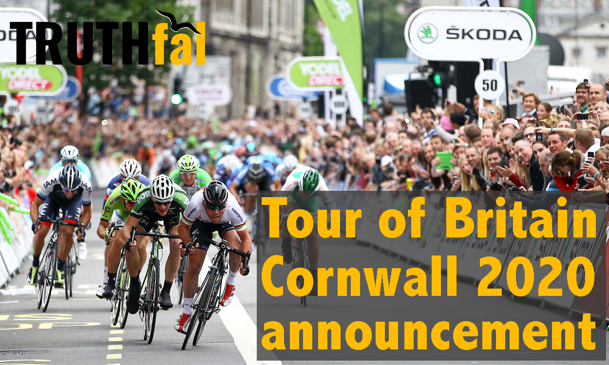 Cornwall Council hold launch for 2020 Tour of Britain Stage