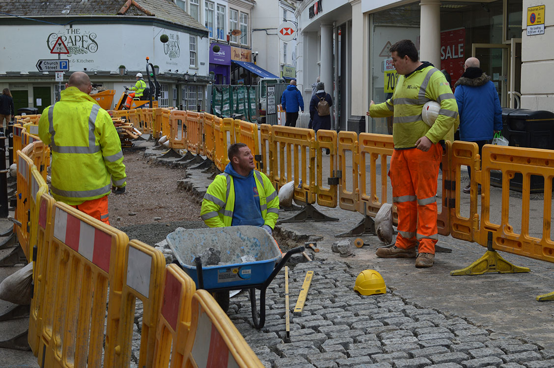 Falmouth Roadworks: How are they affecting business?
