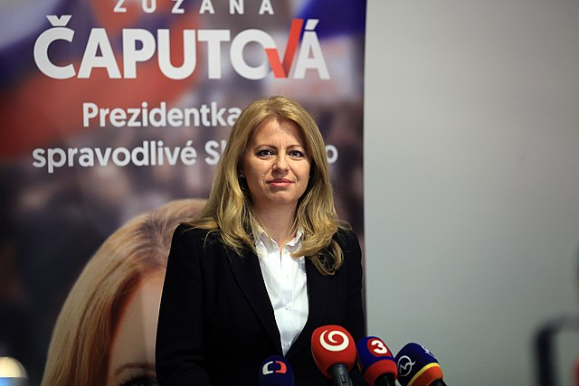 Zuzana Čaputová elected as first female President of Slovakia