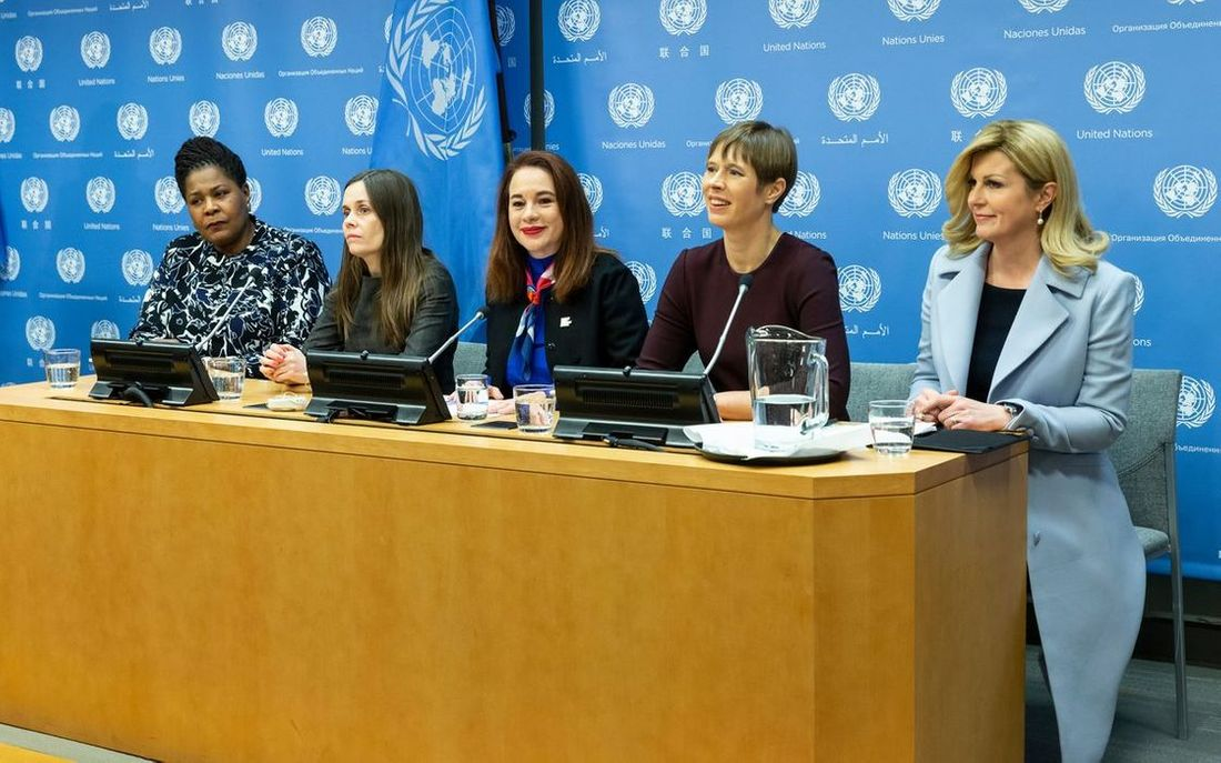 Women In Power: Attending a UN press briefing in New York