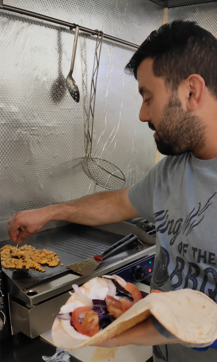 Syrian refugee opens restaurant in Truro: experience the taste of Damascus