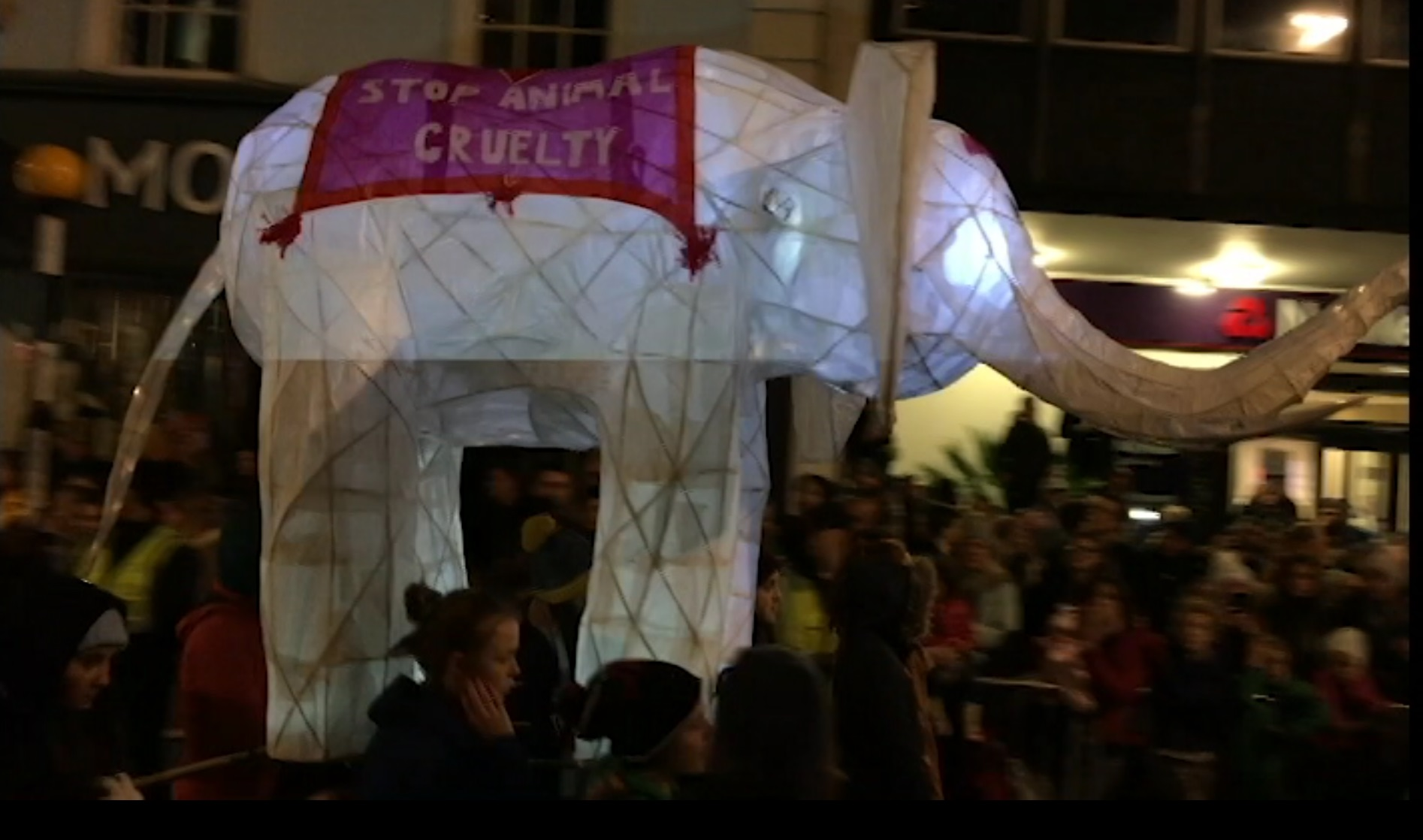 Truro lights up for Christmas