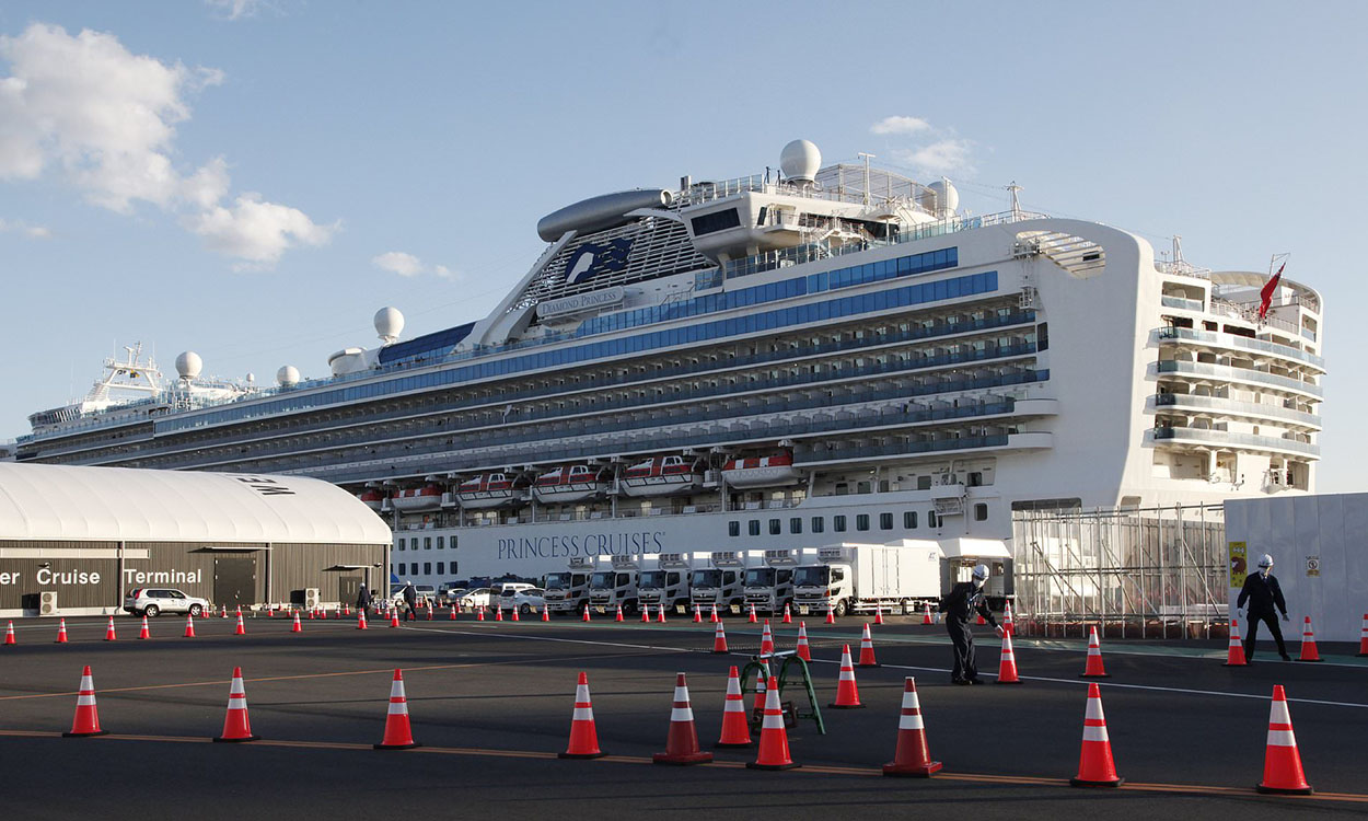 Brits coming home after cruise ship quarantine