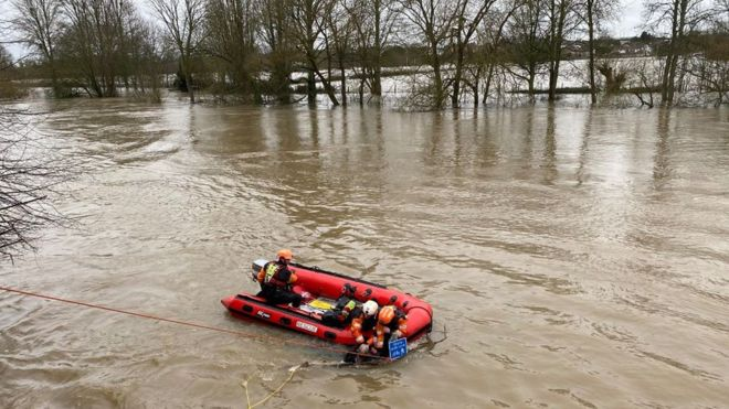 150 flood warnings issued as river Severn still poses threat