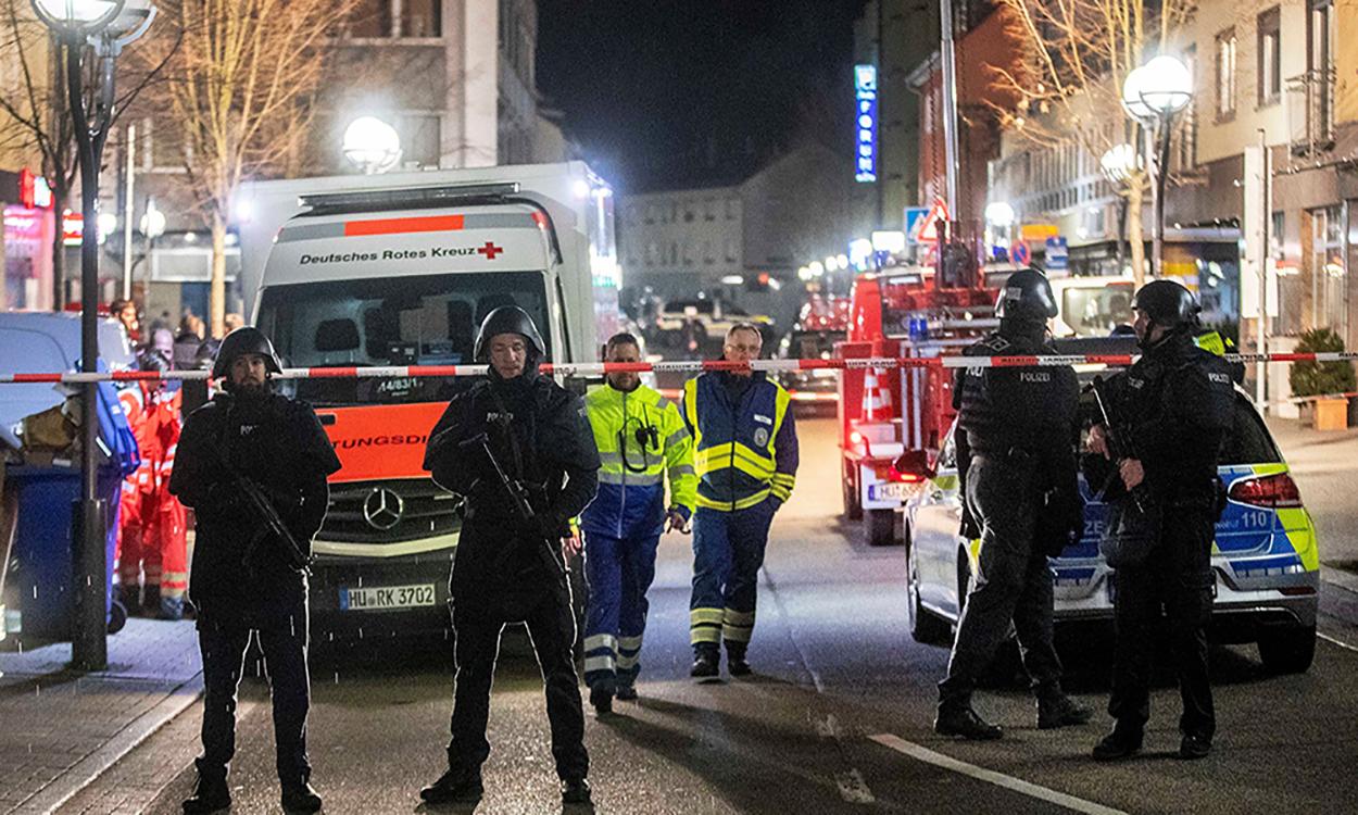 10 dead in German far-right shooting