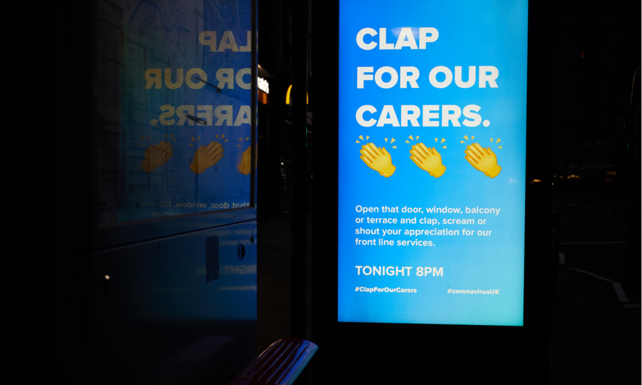 Clap for Carers Advertisement