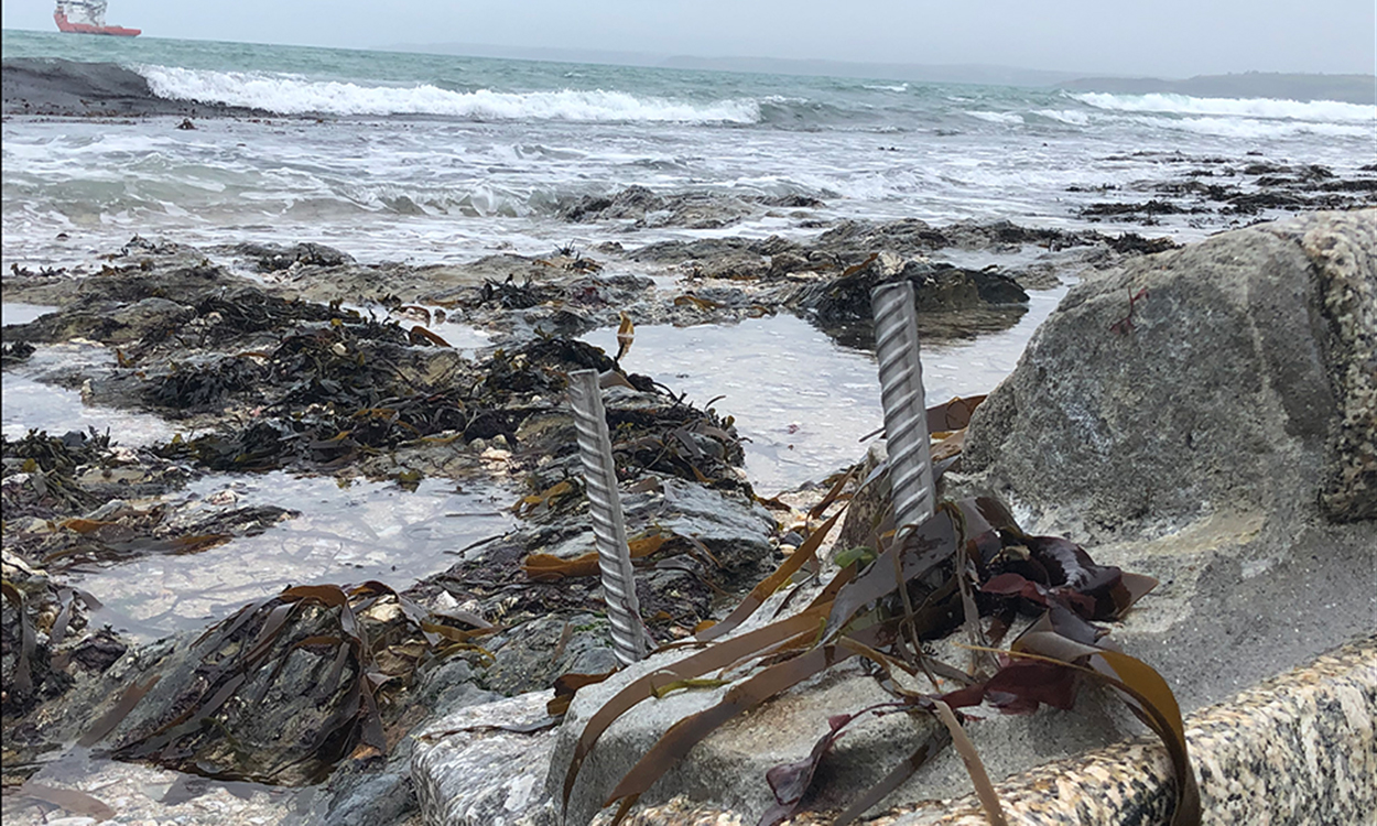 Aftermath of the storm: South Cornwall Coastal damage revealed