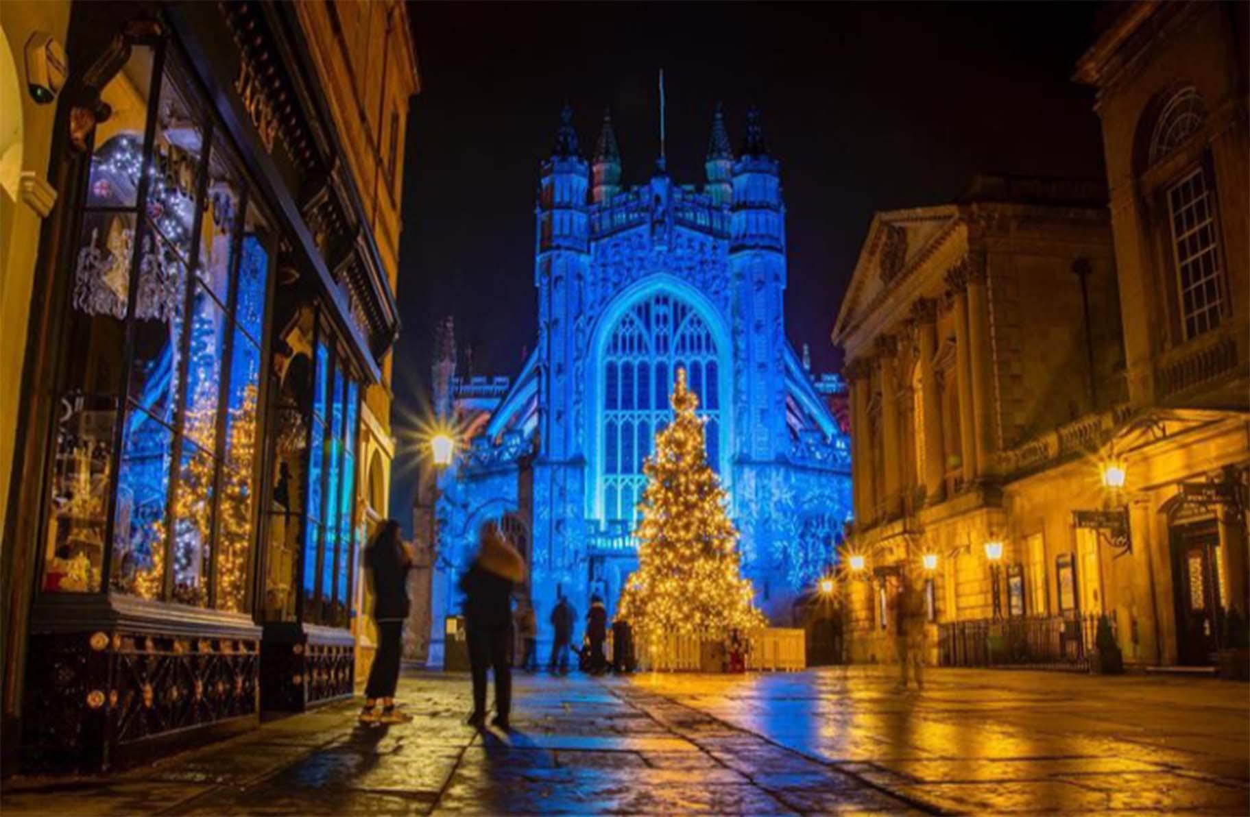 Sam Kelly: Christmas in Bath city centre