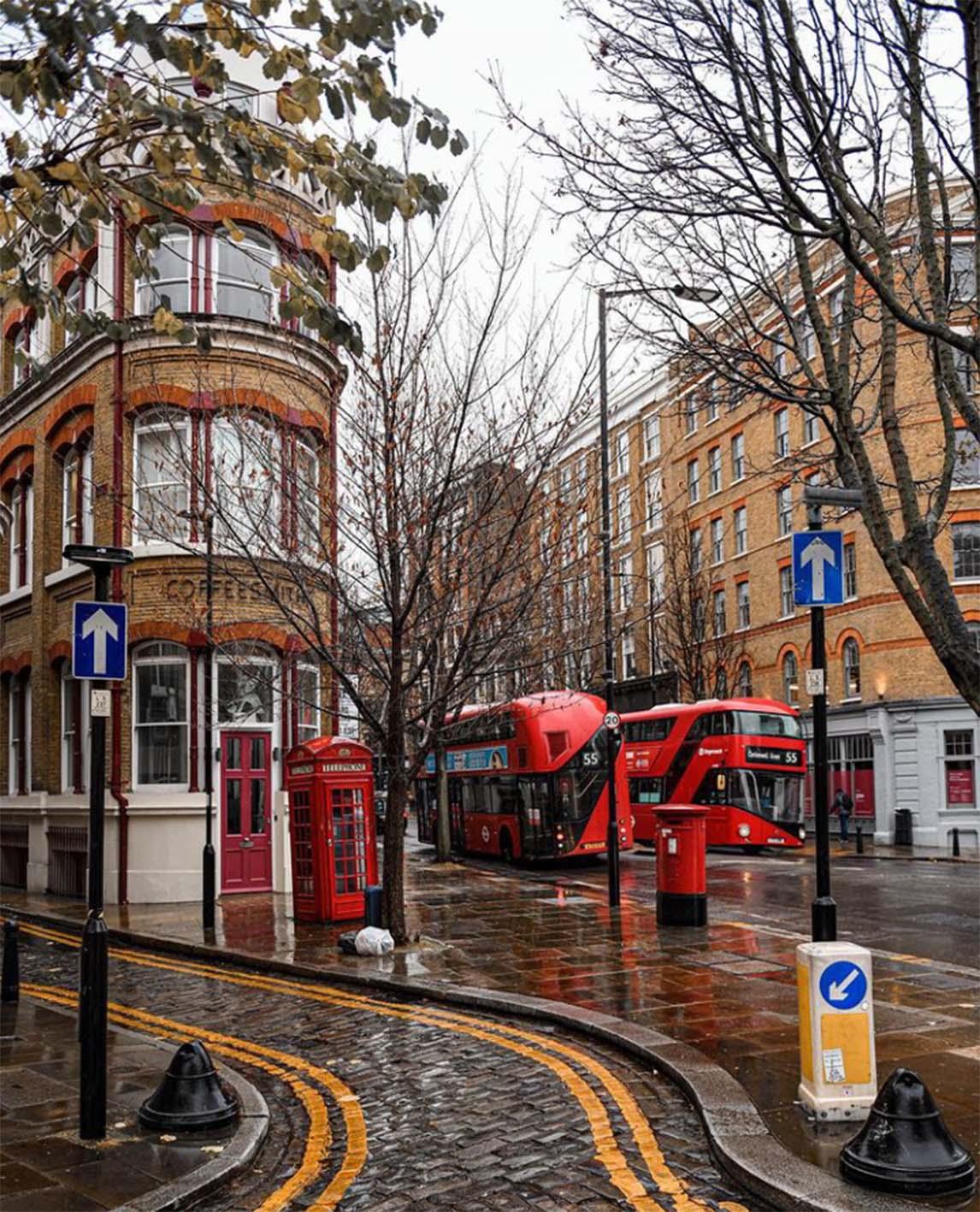 Andrea Di Fillipo: London bus