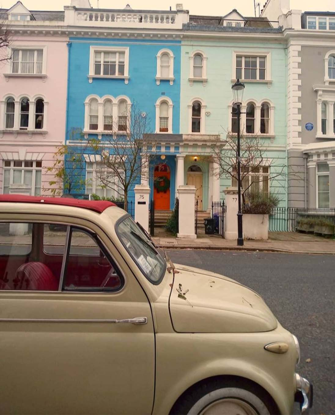 Laurence G: Empty Notting Hill