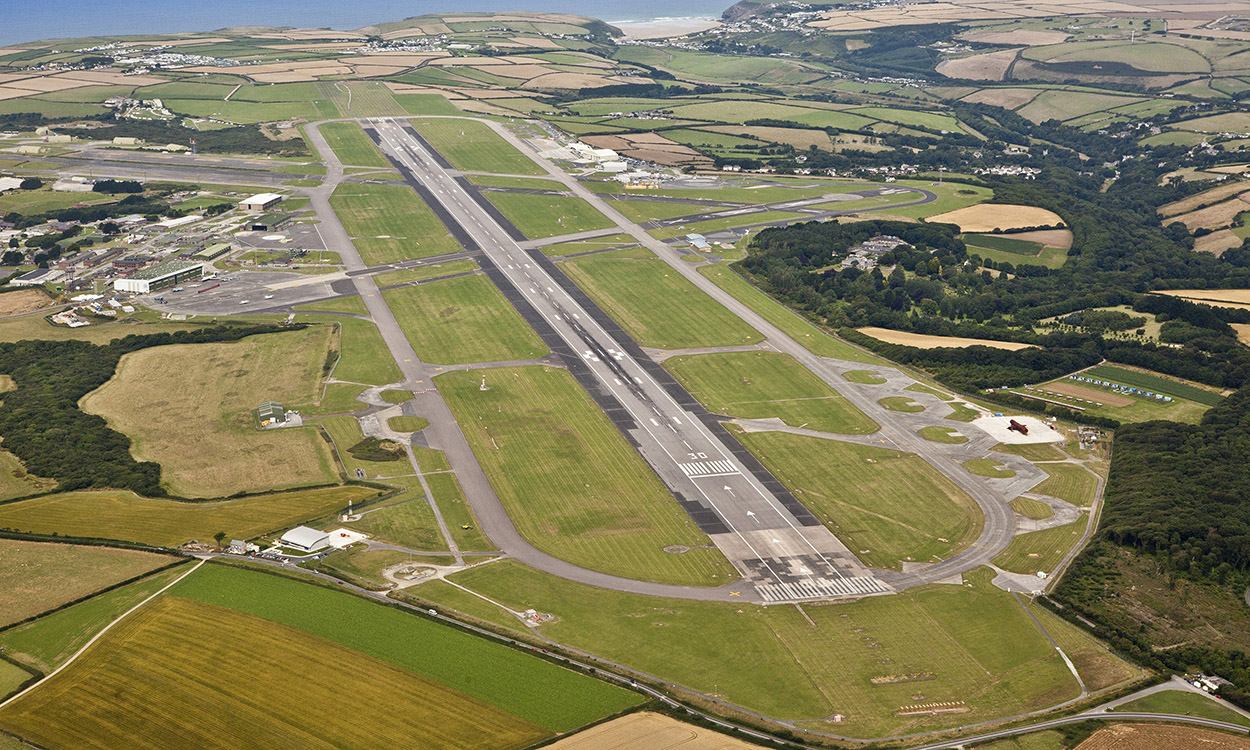 Newquay airport due £7.8m in government funds for G7 upgrades
