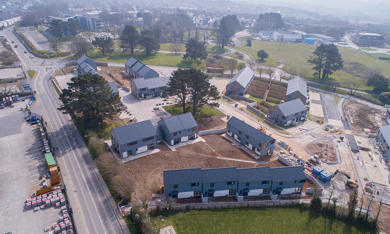 Promise met as 1,000 houses built in Cornwall Council scheme