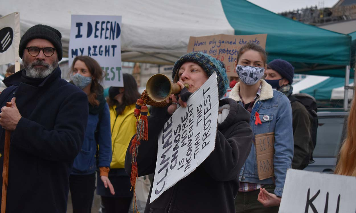 Kill the bill: A story of the Truro protests in pictures