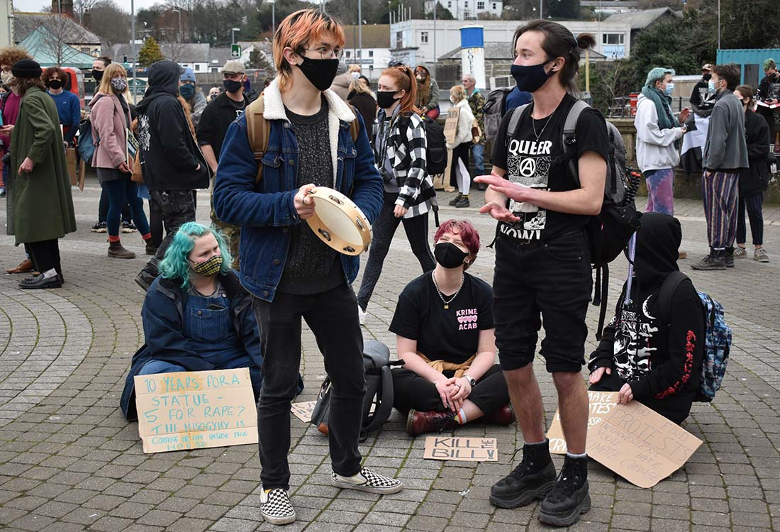 protest band