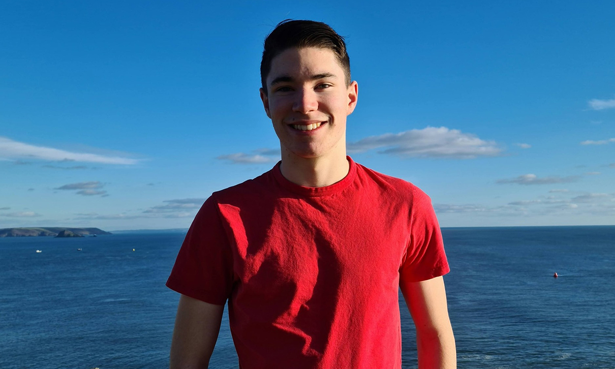 Louis Sanderson: Youngest Labour party candidate in Cornwall